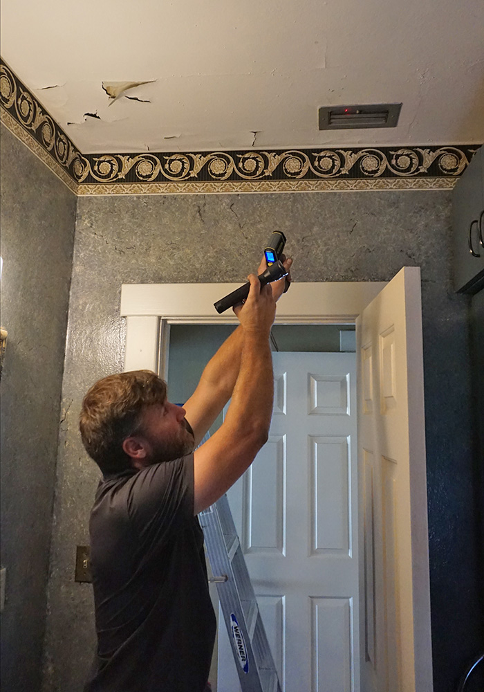 water damage inspection in clermont fl